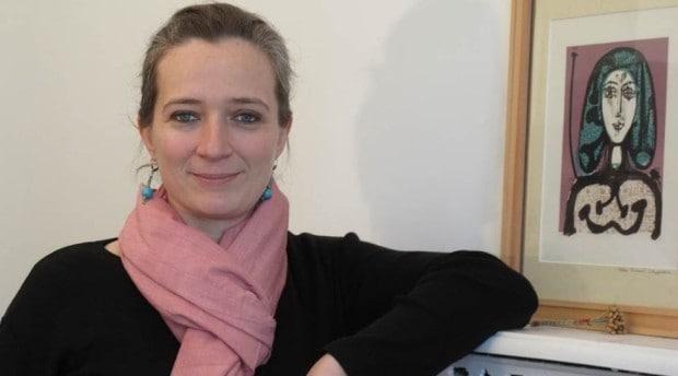 Virginie Rousselin, de l'association tarnaise de l'agriculture de groupe, intervient de plus en plus sur la question de la transmission dans les exploitations et les cuma.