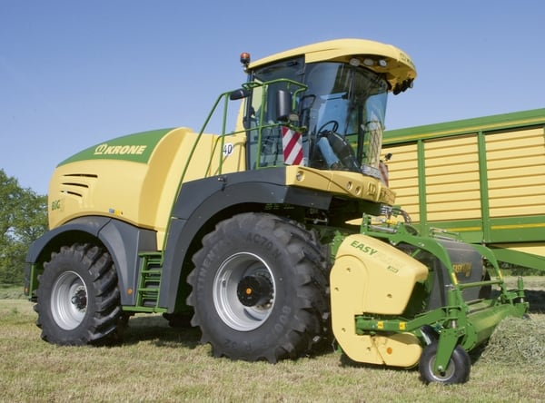 agritechnica Krone ensileuse