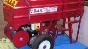 presse à big bags CGAO recyclage déchets agricoles