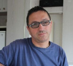 Jean-François Rimbeau, associé de la maternité collective Porc Net.