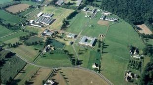 L'unité de recherche et d'expérimentation de Saint-Gilles, du centre INRA de Rennes.