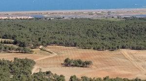 """Le """"démonstrateur"""" du projet AltaVinha, au coeur du Massif de la Clappe, au bord de la Méditerranée. Dans cette région très touristique de l'Aude, les particuliers qui ont pris part au projet AltaVinha viennent souvent de loin."""