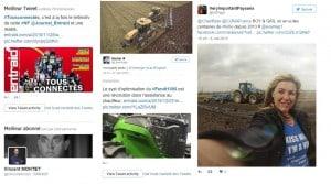 Le meilleur du Twitter #agricole en 2015.
