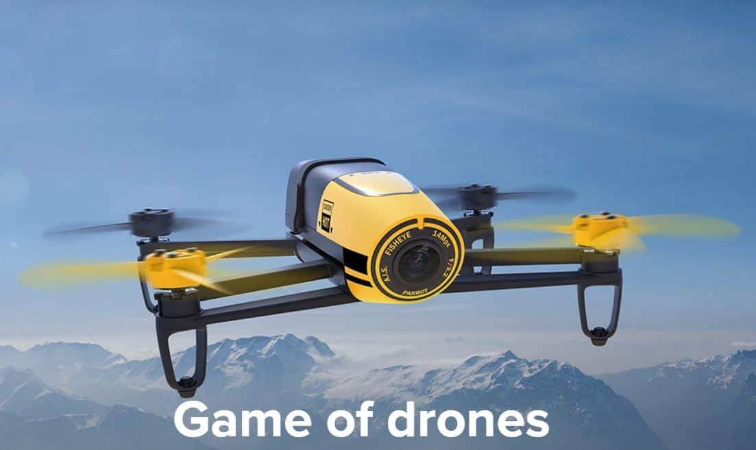 Promotion drone parrot power edition, avis ar drone 1.0