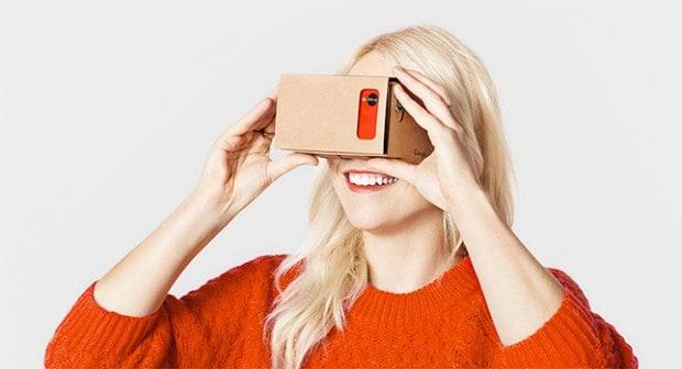 Si vous êtes armés d'un casque à écouteurs VR comme Google Cardboard ou le Samsung Gear VR