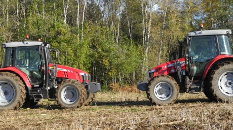 Comparatif tracteur 3 cylindres 4 cylindres carburant consommation tracteur traction transport labour