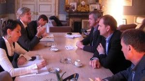 Une discussion franche de plus d'une heure d'une délégation de la Fncuma avec le Ministre.