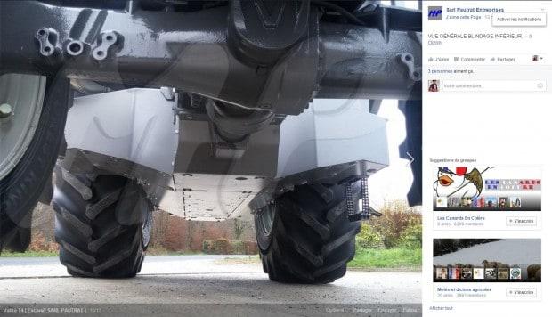 Tracteur valtra T4 forestier