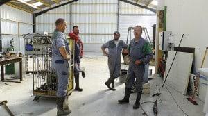 atelier de cuma Morbihan groupe de salariés