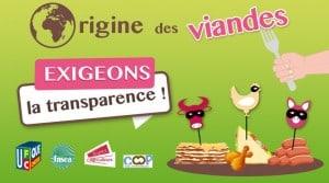 pétition origine des viandes
