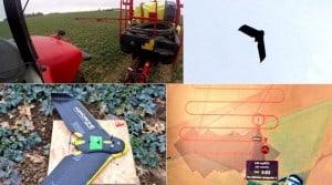 photos drones twitter fertilisation azotée colza airinov