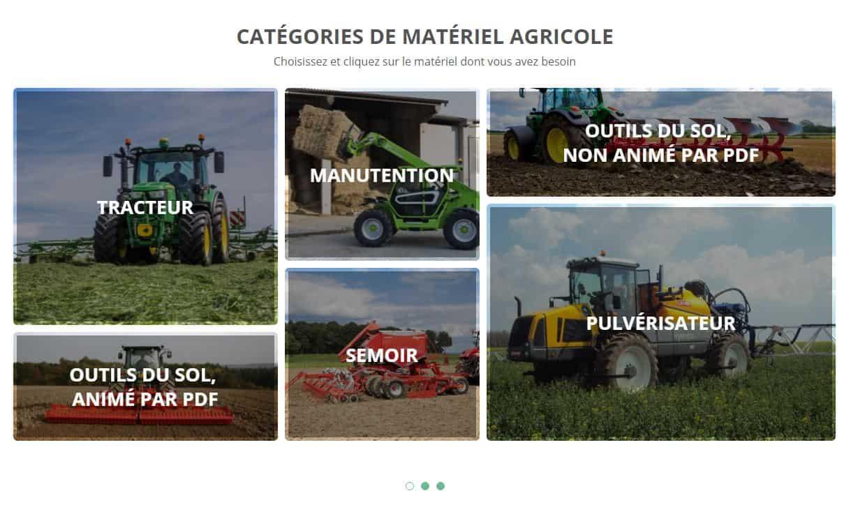 Wefarmup location materiel en ligne machinisme agricole tracteur