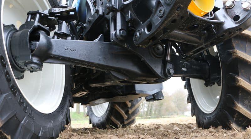 T5 Tracteurs new holland 2016 pont avant suspendu