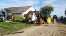 recyclage, polyéthylène, cuma , Loiret, tuyaux irrigation