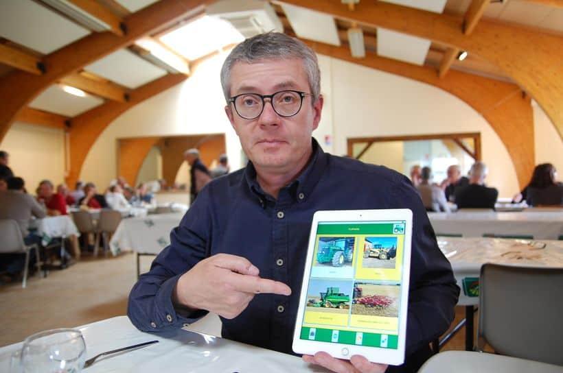 flipagri tablette suivi maintenance