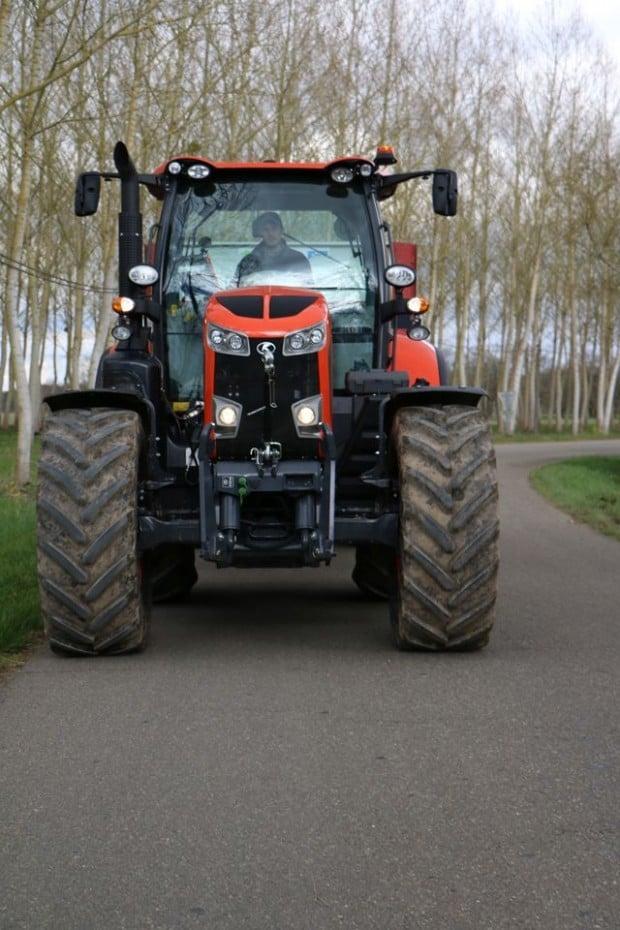 Comportement Kubota avis commentaires transport agricole tracteur M7151