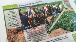 innovation agriculture R&D agriculture entraid juin 2016