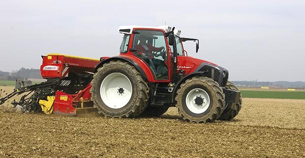 Tracteur, semis