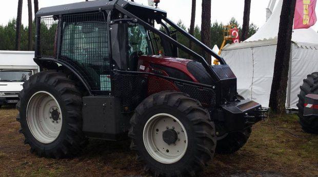 foret tracteur