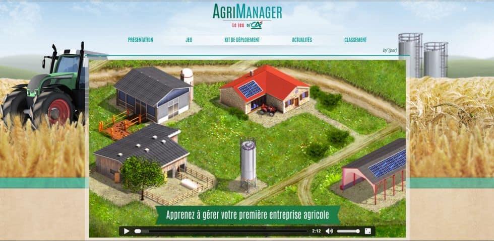 jeu en ligne-AgriManager-Crédit agricole