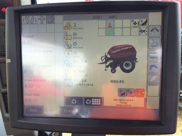 Case IH Maxxum tracteur Isobus Class III