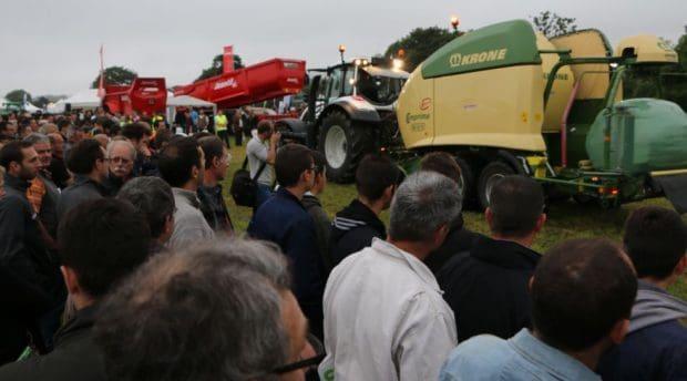 Salon agricole journée technique agriculteurs