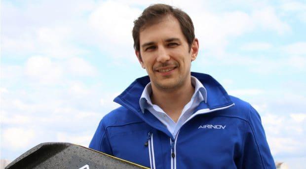 Romain Faroux airinov drone agriculture