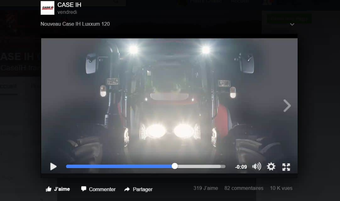 Tracteur Farmall Luxxum fabrication autriche agriculture