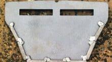 Grattoir de rouleau-packer équipé de Férobide.
