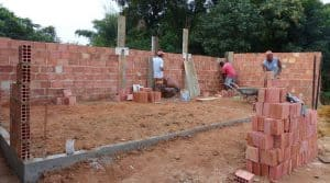 Construction murs Brésil