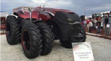 CaseIH tracteur autonome robot Magnum