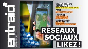 Les réseaux sociaux scannés par Entraid en septembre 2016
