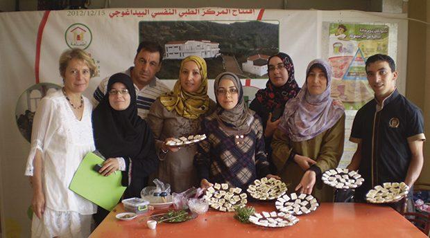 Colette et l'association marocaine