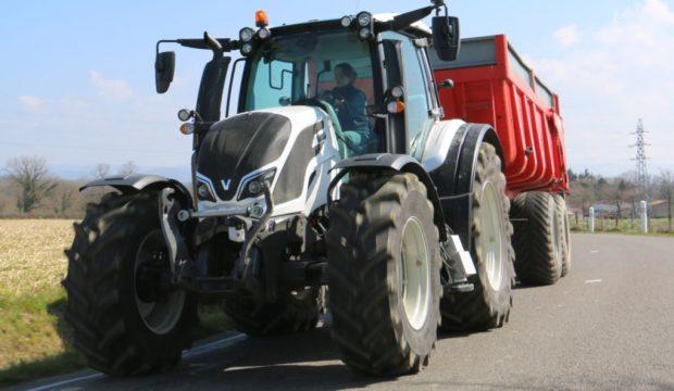 essai tracteur T4 valtra N174