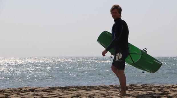 reportage video tracteur wakeboard serie 9 deutz fahr Lucas Langlois et pourquoi pas du ski nautique