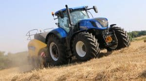 Essais tracteur presse new holland big baler