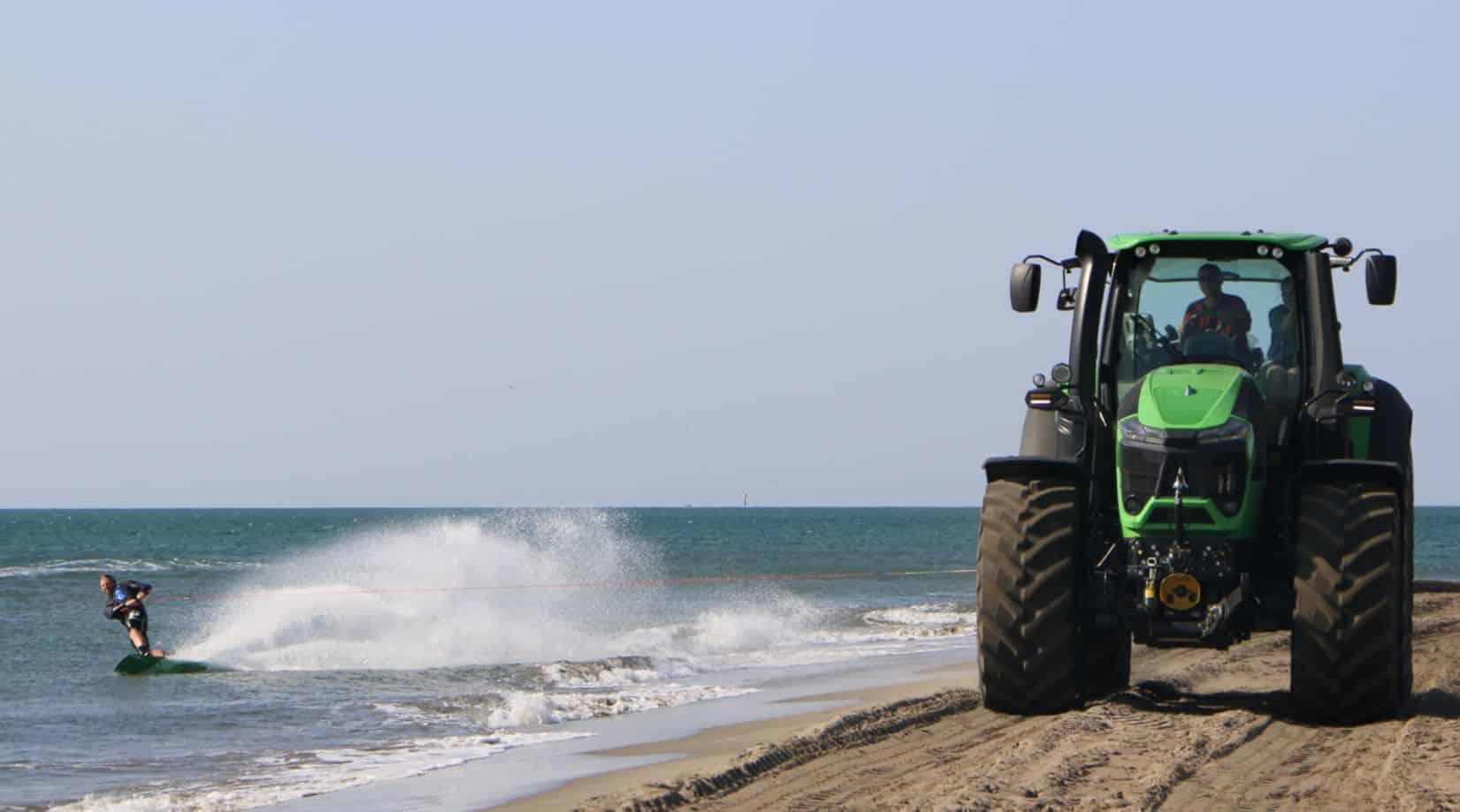 Tracteur deutz fahr série 9 9340 TTV wakeboard Lucas Langlois