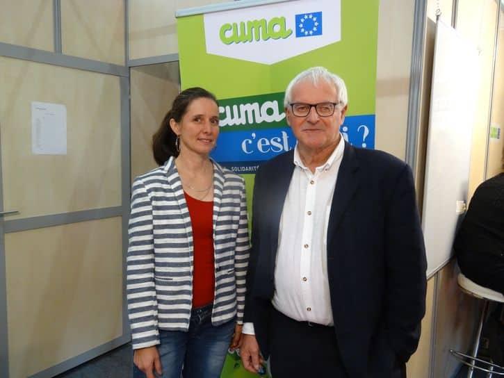 Laure Theuil et Claude Vanneau