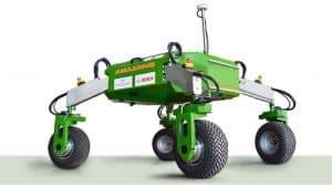 Le robot BoniRob d'Amazone et Bosch