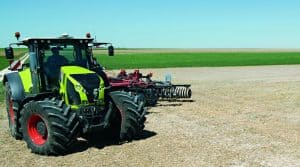 claas turn in guidage tracteur