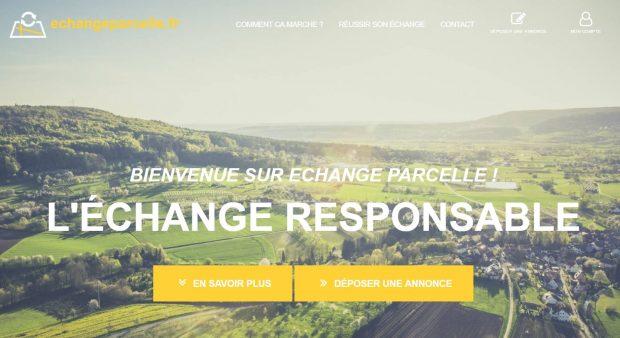 bienvenue sur echangeparcelle.fr