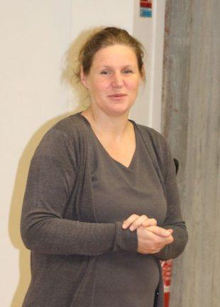 Sylvie Enée, du centre de gestion AFAC basé en Charente