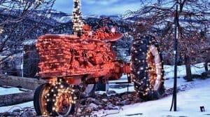 @JimNix Top noel tracteurs neige décoration