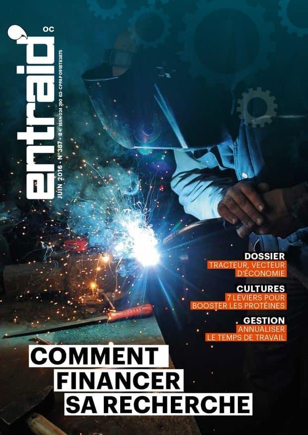 couverture du mensuel Entraid de juin 2016
