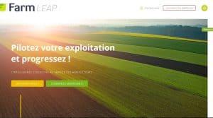 Farm Leap écran accueil