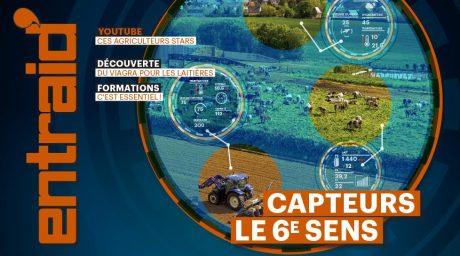 couverture capteurs agricoles nouvelles technologies entraid magazine janvier