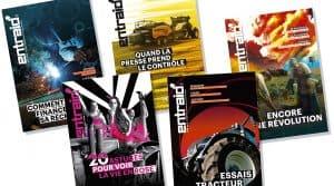 Les couvertures d'Entraid 2016 non publiées