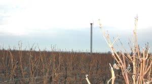 vigne, gel, cuma Protecgel, tours antigel, Vallée du Cher