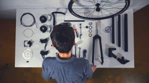 Un vélo réalisé en 3D