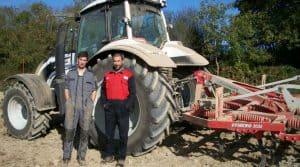 tracteur, cuma du Busseau, Valtra, SMS, puissance, déchaumeur,